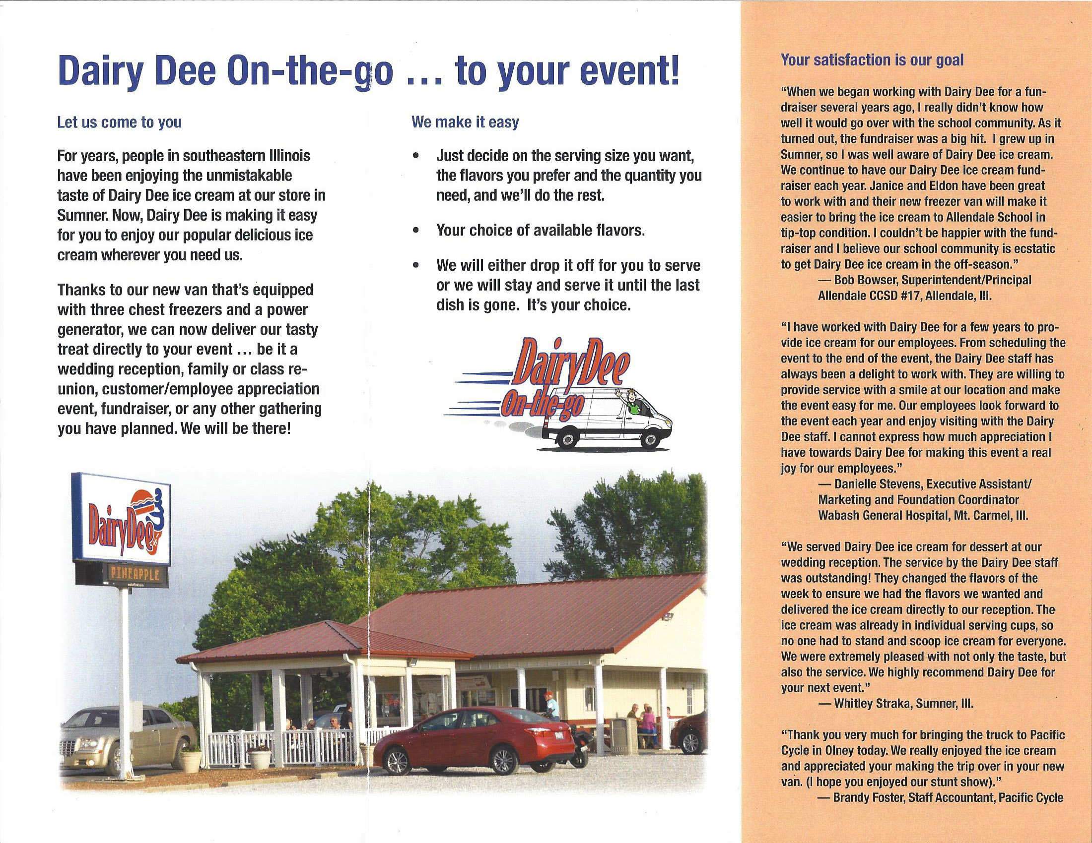 Dairy Dee Fundraising 2018